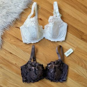 NWT Sensuous Lace Semi Lined Balconet Lot